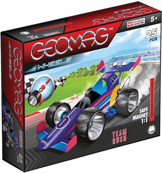 Geomag™ Konstruktionsspielzeug (25-tlg.), »Wheels Team Rush«