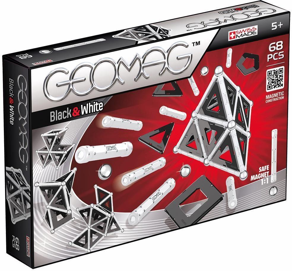 Geomag™ Konstruktionsspielzeug (68-tlg.), »Panels Black & White«
