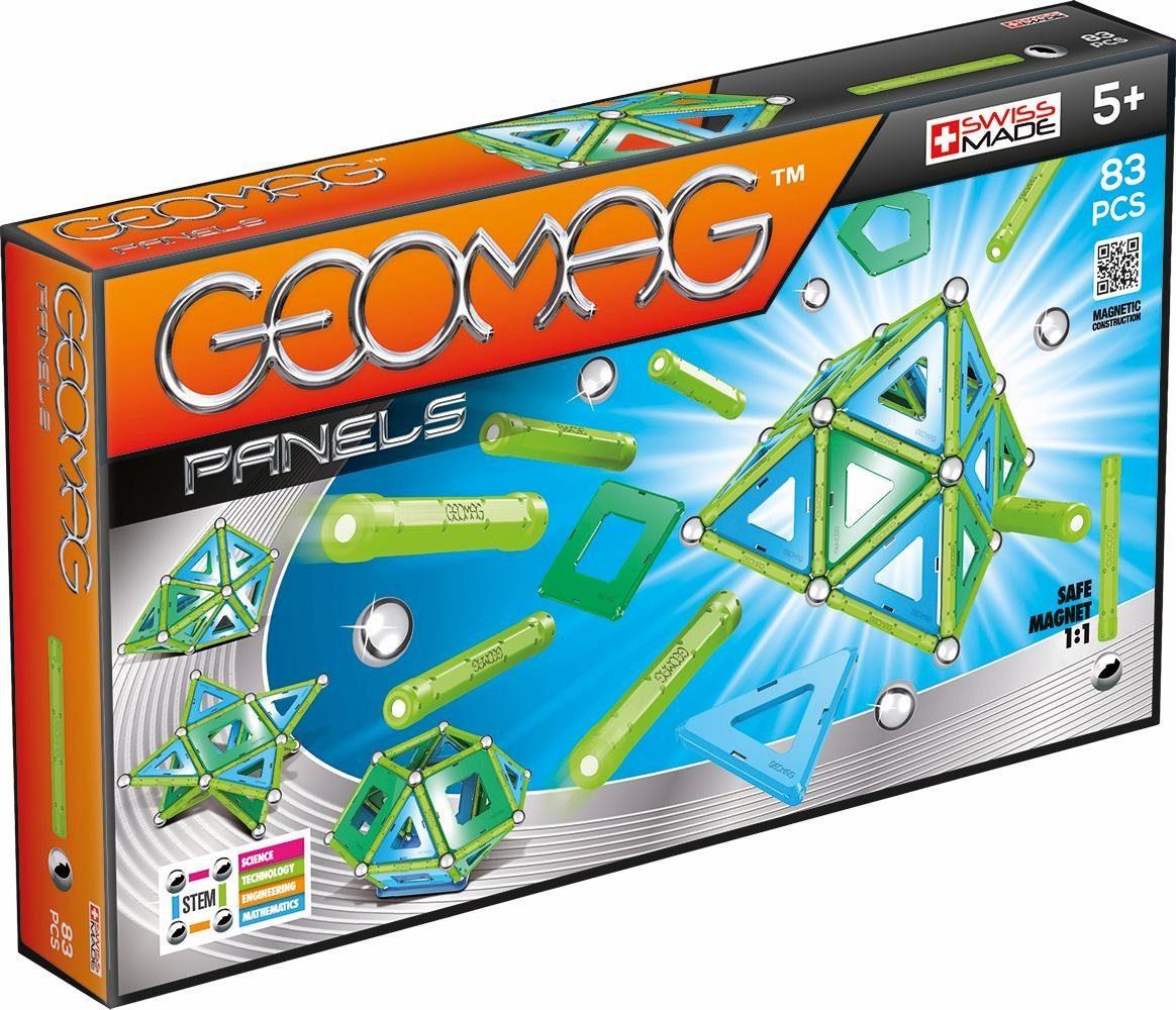 Geomag™ Konstruktionsspielzeug (83-tlg.), »Panels«