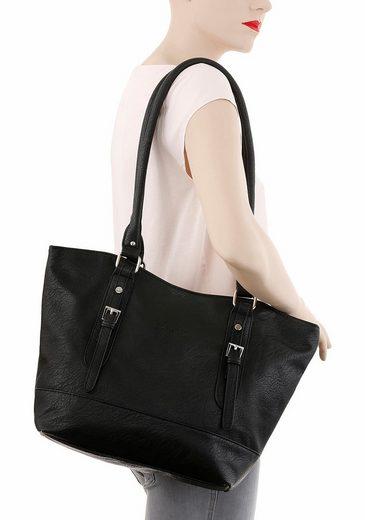 J.jayz Shoulder Bag With Decorative Close