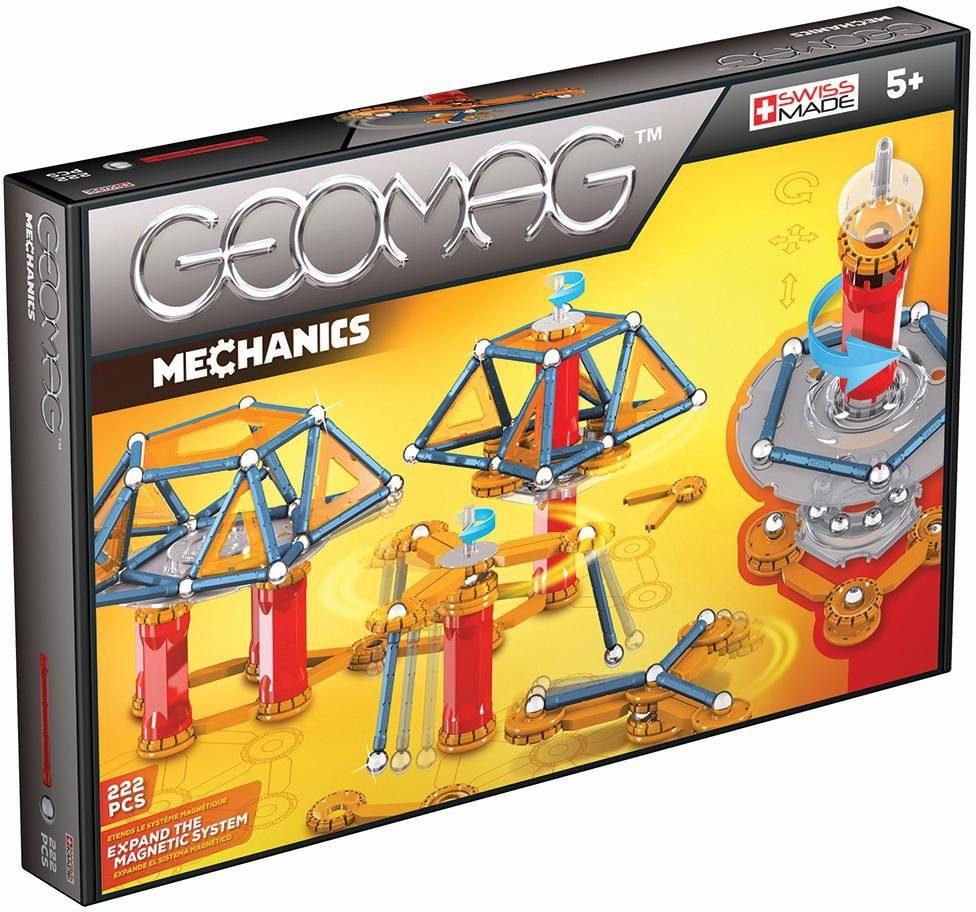 Geomag™ Konstruktionsspielzeug (222-tlg.), »Mechanics«