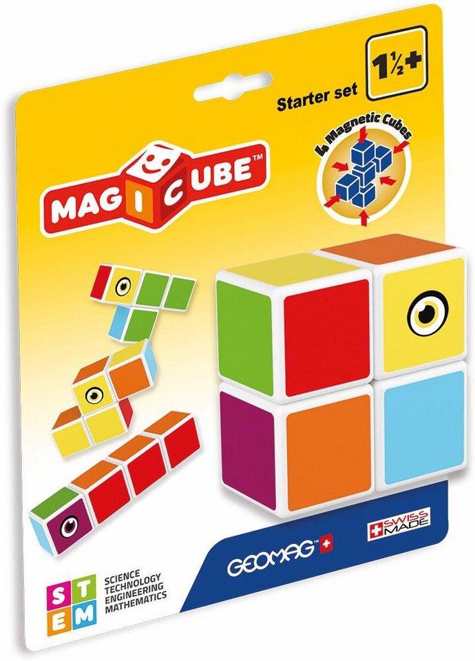geomag konstruktionsspielzeug 4 tlg magicube starter. Black Bedroom Furniture Sets. Home Design Ideas