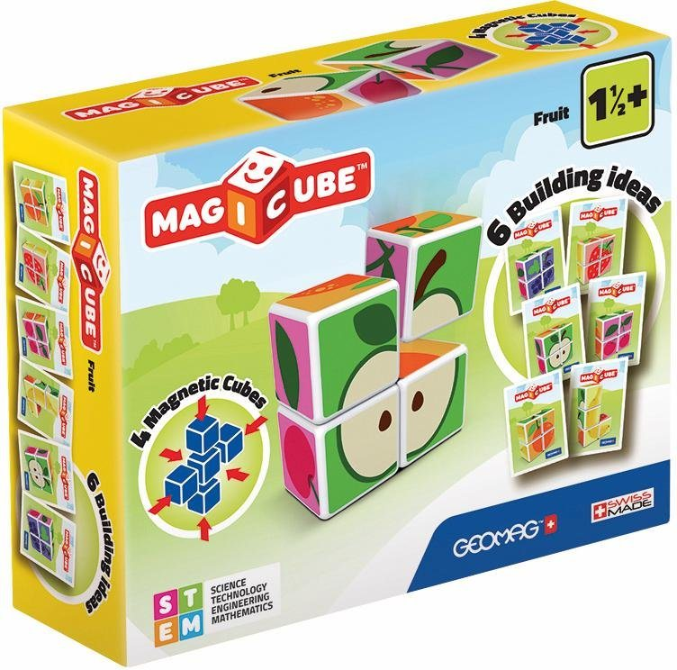 Geomag™ Konstruktionsspielzeug (7-tlg.),  MAGICUBE Fruit  online kaufen