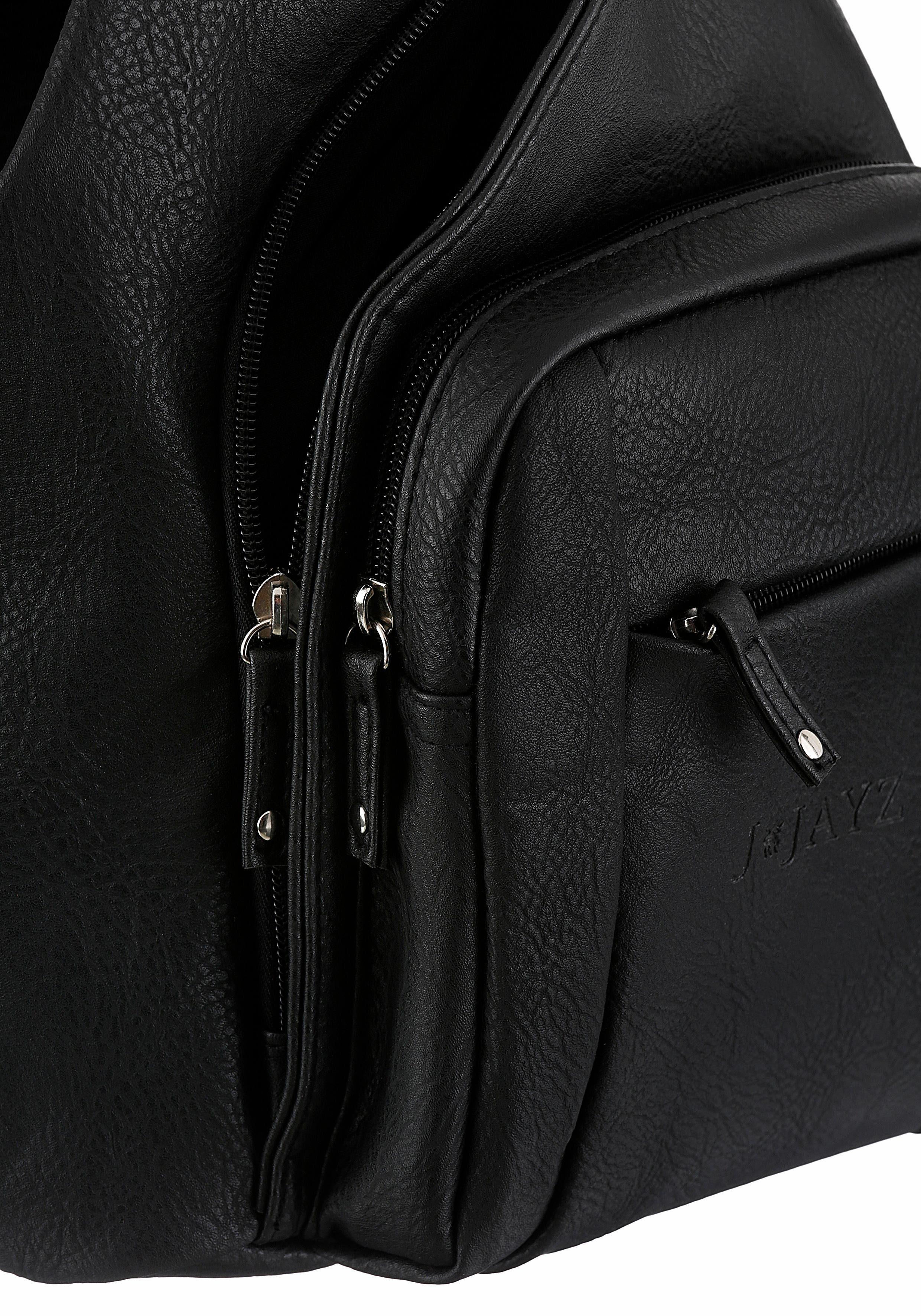 J Cityrucksack Mit jayz Reißverschluss Teilbar Schulteriemen Verstellbaren Zr0Zw