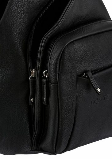 Teilbar J Cityrucksack Reißverschluss jayz Mit Verstellbaren Schulteriemen Rrxr6YPqw