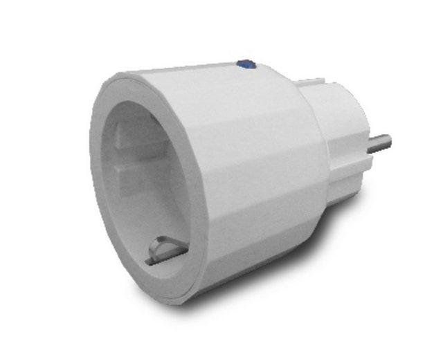 Z-Wave Smart Home Zubehör »Schuko-Zwischenstecker«   Baumarkt > Elektroinstallation > Steckdosen   Weiß   Z-Wave