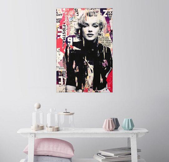 Posterlounge Wandbild - Michiel Folkers »Marilyn Monroe«