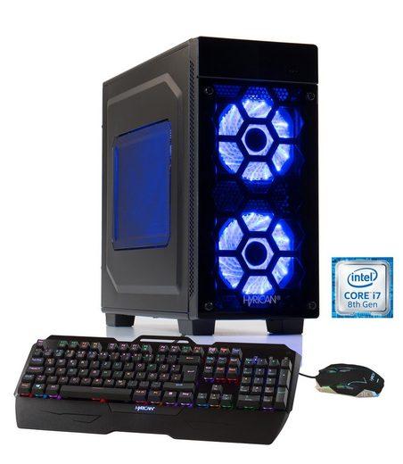 HYRICAN Gaming PC Intel® i7-8700K 16GB 2TB 240GB SSD GeForce® GTX 1070Ti »Striker-X 5755«