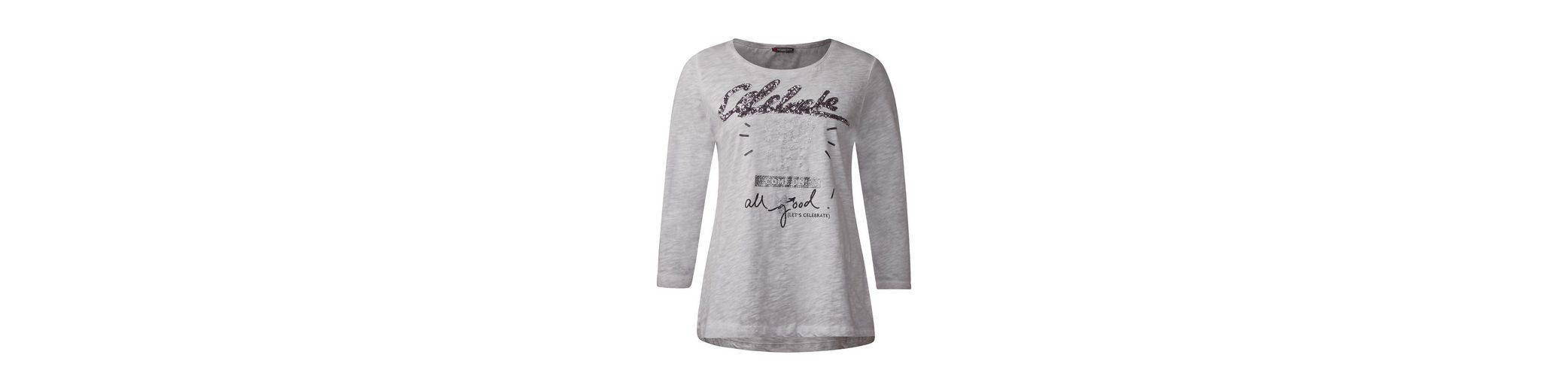 Steckdose Billig Finish Günstig Online Street One Shirt mit Glitzer Wording Wirklich Günstig Online Billig Verkauf Für Schön Factory Outlet Günstig Online 2RXrv35W