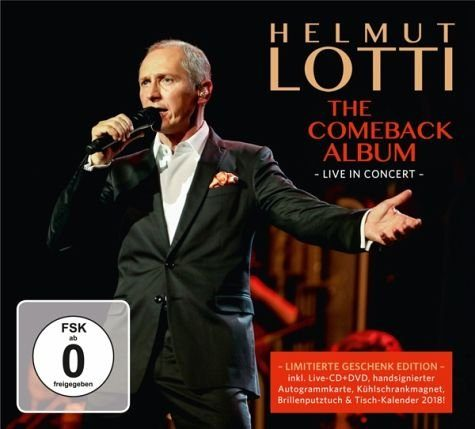 CD+DVD »Lotti,Helmut: The Comeback Album - Live In...«