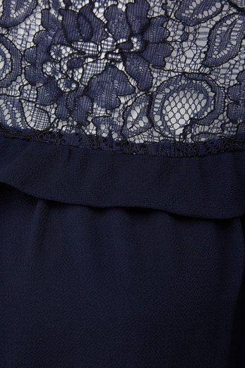 Belloya Spitzenbluse, mit Spitze