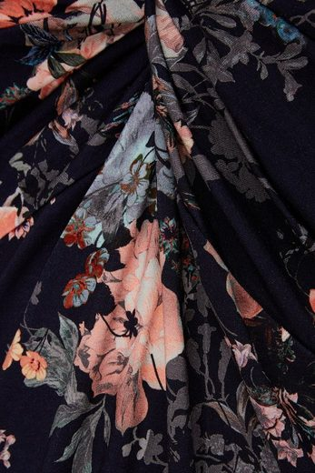 Belloya Print-Shirt, mit Knopfdetail
