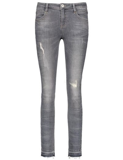 Taifun Hose Jeans lang Destroyed-Jeans, Super Skinny TS