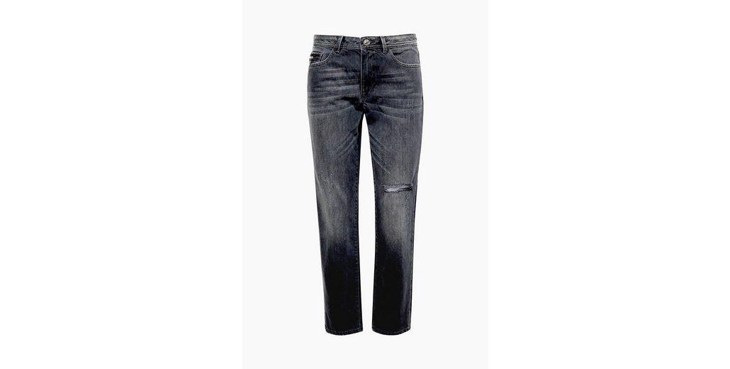 EDC im ESPRIT EDC Verk眉rzte Destroyed Jeans BY Look BY 6Fxafqwf