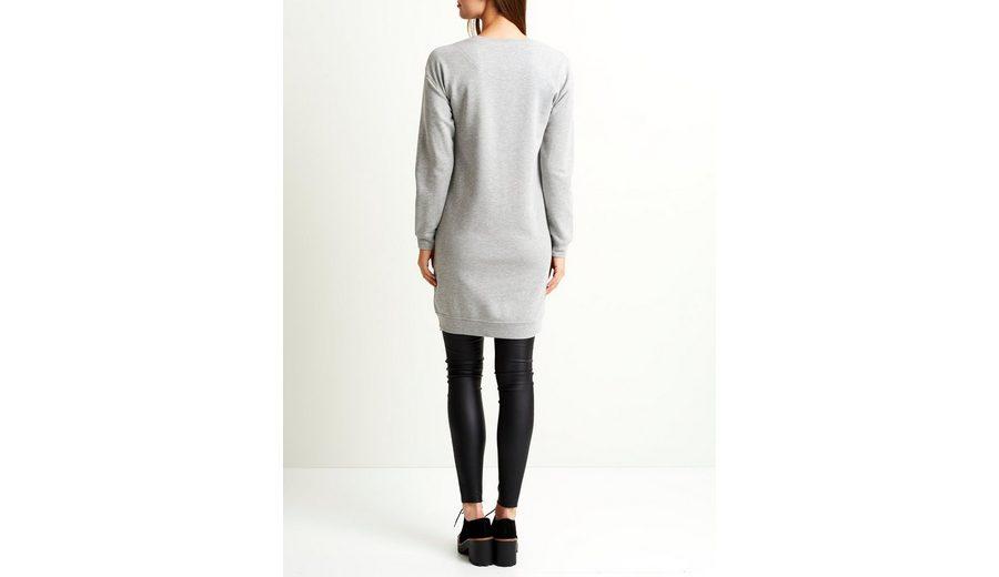 OBJECT Reißverschluss-Detail - Sweat Kleid Günstig Kaufen MRVKLN