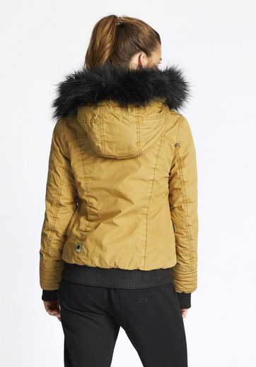 Khujo Winterjacke Somia With Detachable Faux Fur On The Hood