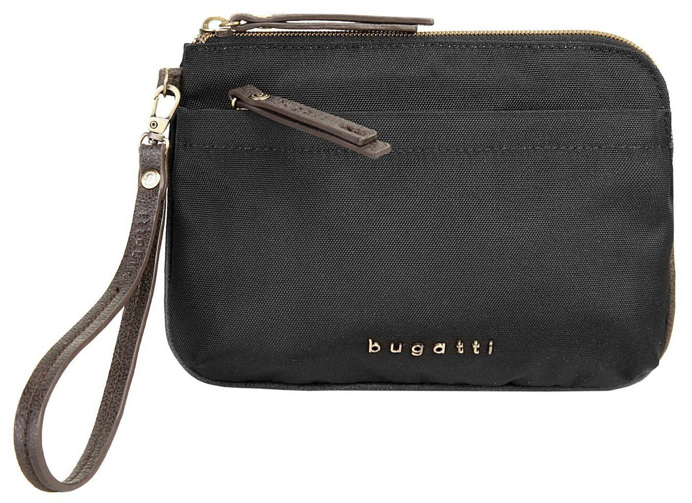 bugatti Abendtasche »CONTRATEMPO«, besonders leicht | Taschen > Handtaschen > Abendtaschen | Schwarz | Polyester | bugatti