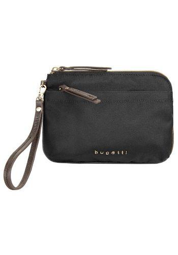 Damen Bugatti Abendtasche CONTRATEMPO, besonders leicht schwarz | 04250060347560