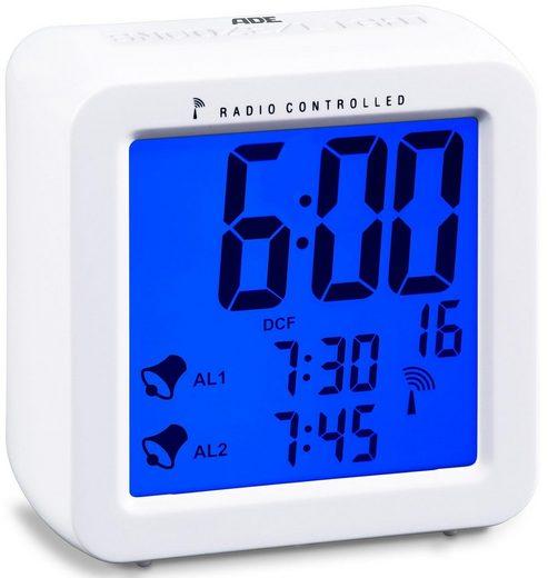 ADE Funkwecker »Funkwecker CK 1701« Nie mehr verschlafen – dank Dual-Alarm