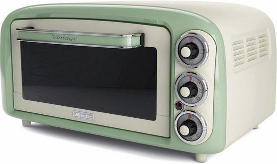 Ariete Minibackofen Vintage 979 grün, 1380 W, mit Ober- und Unterhitze