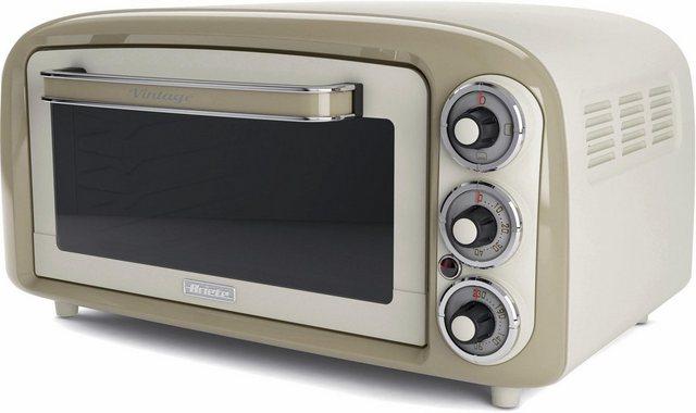 Ariete Minibackofen Vintage 979 creme, Oberhitze, Unterhitze   Küche und Esszimmer > Küchenelektrogeräte > Küche Grill   Ariete