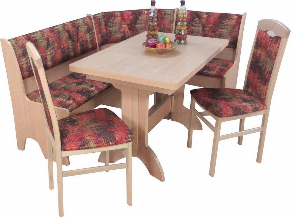 eckbankgruppe mit truheneckbank 4 tlg kaufen otto. Black Bedroom Furniture Sets. Home Design Ideas