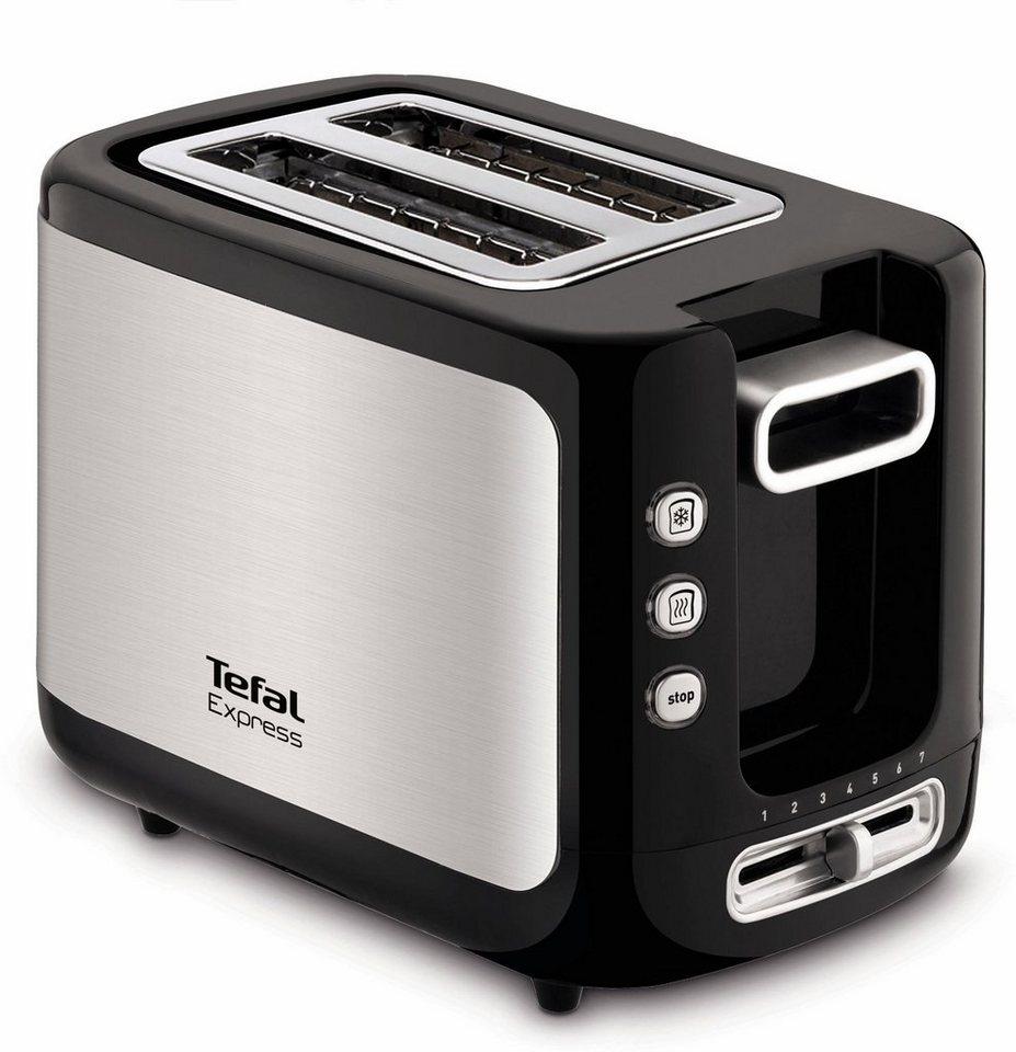 tefal toaster tt3650 express f r 2 scheiben 850 w online kaufen otto. Black Bedroom Furniture Sets. Home Design Ideas