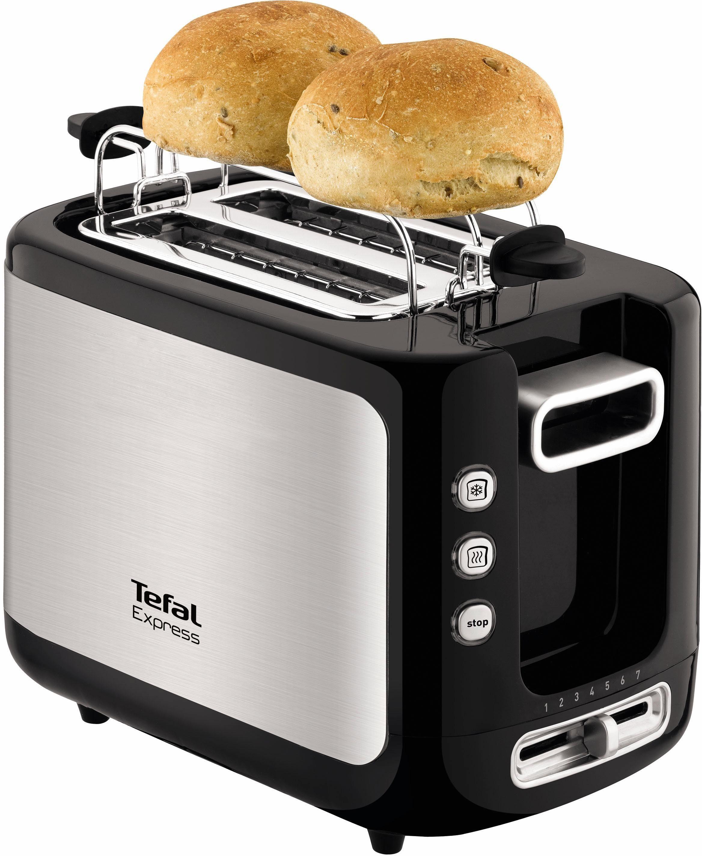 Tefal Toaster TT3650 Express, für 2 Scheiben, 850 W