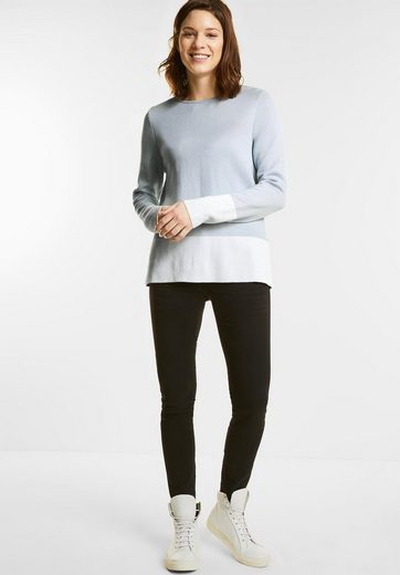 Street One Colourblock Pullover