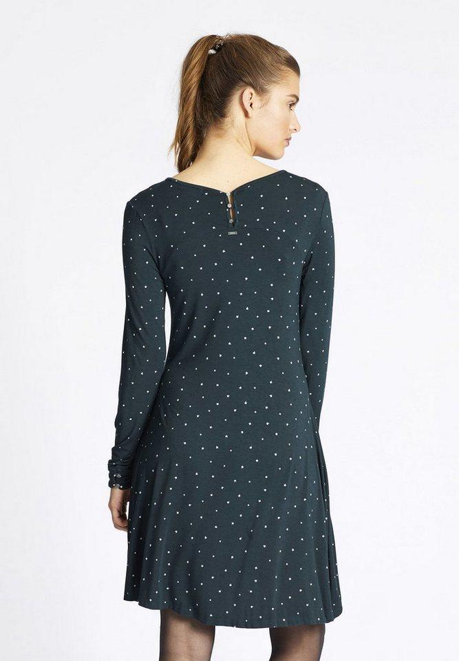 khujo Jerseykleid »JOLINDA« mit Allover-Print