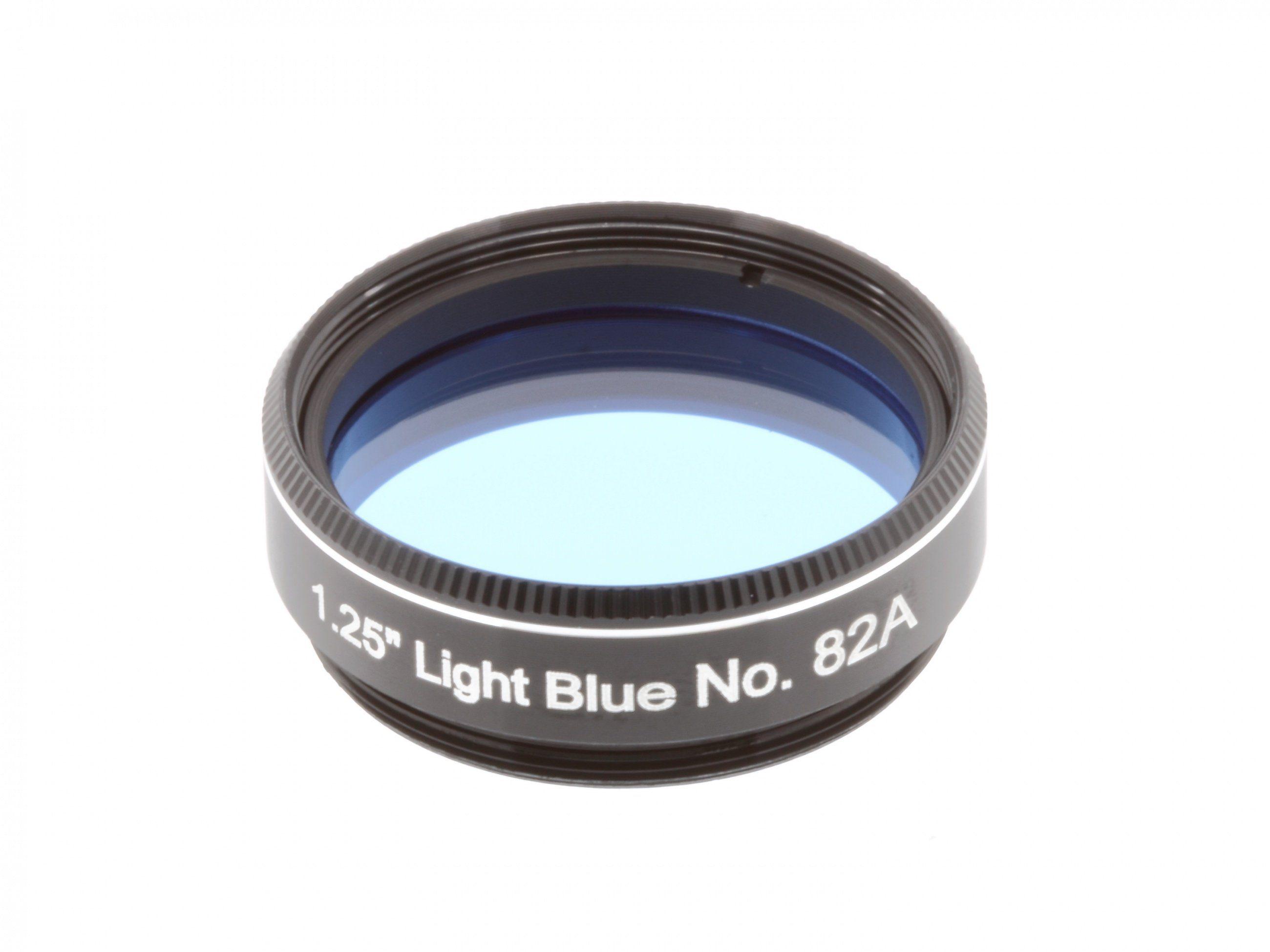 "BRESSER Farbfilter »EXPLORE SCIENTIFIC Filter 1.25"" Hellblau Nr.82A«"