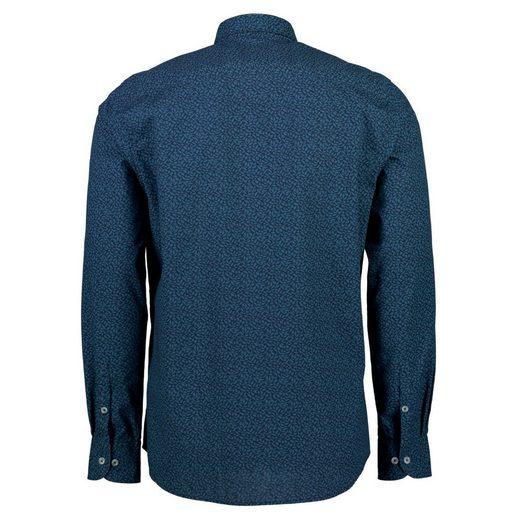LERROS Langarmhemd mit grafischem Blätterprint
