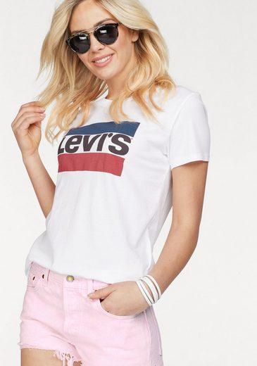 Levi's® T-Shirt The Perfekt Tee, Mit aktuellem Sportprint