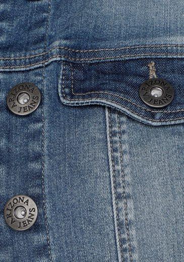 Arizona Extra Kurzer Form In Jeansjacke r6qYxrH