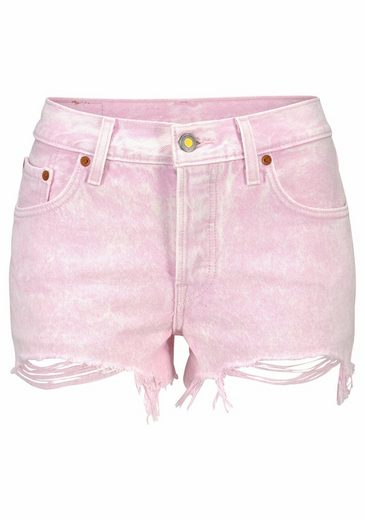 Levis® Jeansshorts 501 Shorts, Destroyed Look