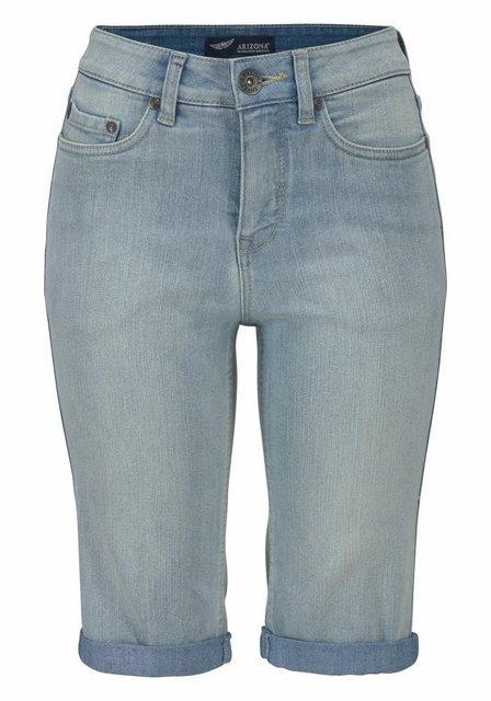 Hosen - Arizona Jeansbermudas High Waist › blau  - Onlineshop OTTO
