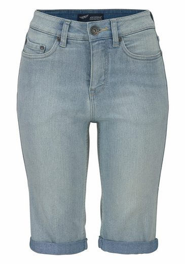 Arizona Jeansbermudas, High Waist