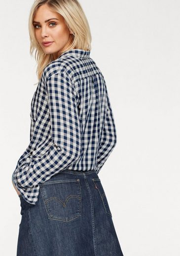 Levi's® Hemdbluse Ryan one Pocket, Gerundeter Saum