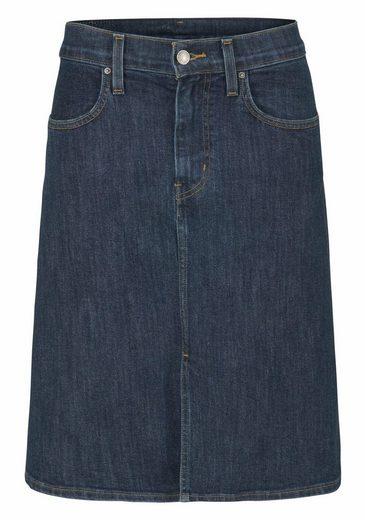 Levi's® Jeansrock A Midi Skirt, Midilänge in A Linien Form