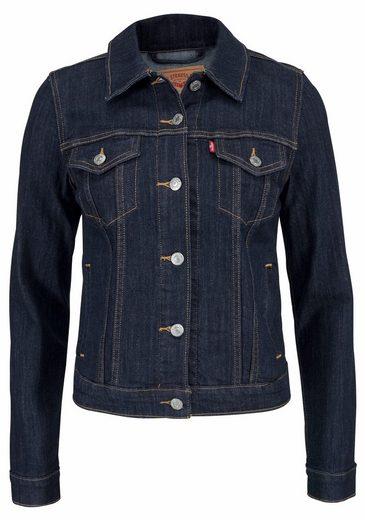 Levi's® Jeansjacke Original Trucker, Klassischer Schnitt