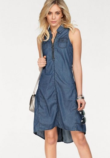 Arizona Jean Dress With Mullet Hem, And Intervened Bags