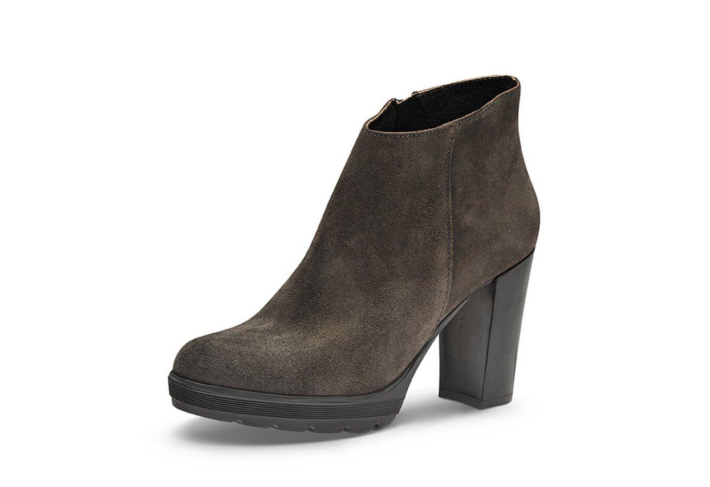 Evita »UBALDA« Plateaustiefelette | Schuhe > Stiefeletten > Plateaustiefeletten | Grau | Evita
