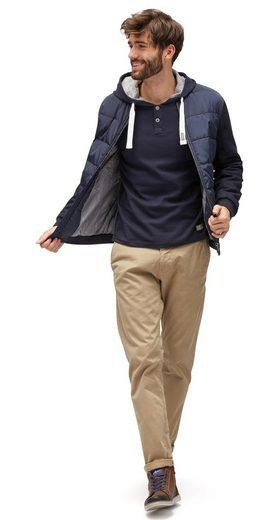 Tom Tailor Strickpullover mit Struktur und Kapuze