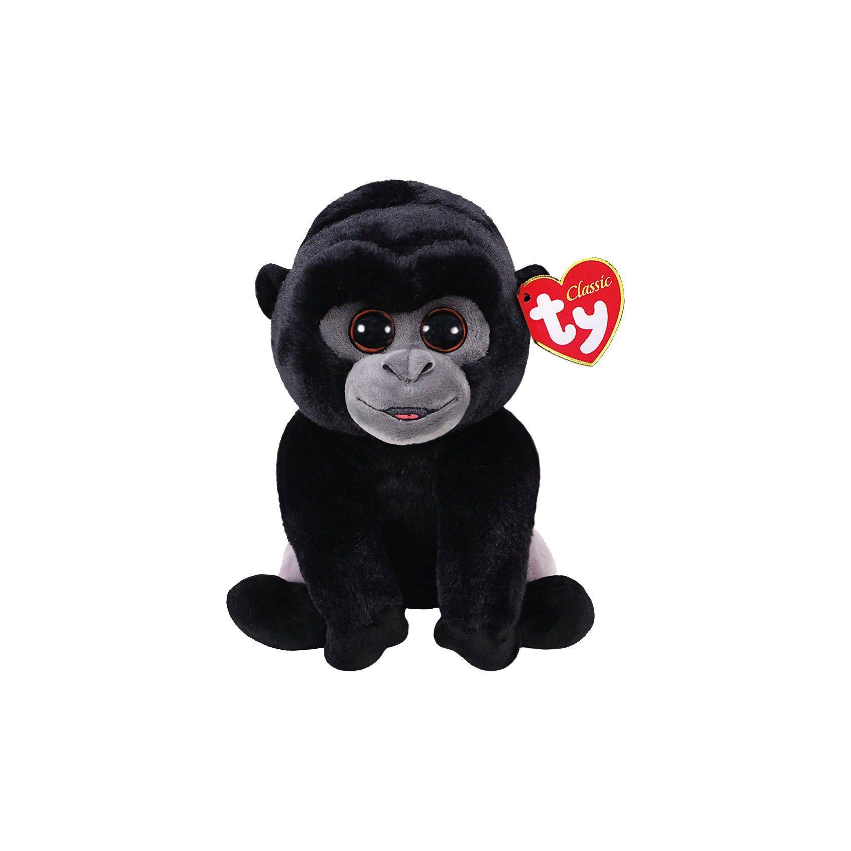 Ty® Beanie Babies Bo, Silberrücken Gorilla 33cm