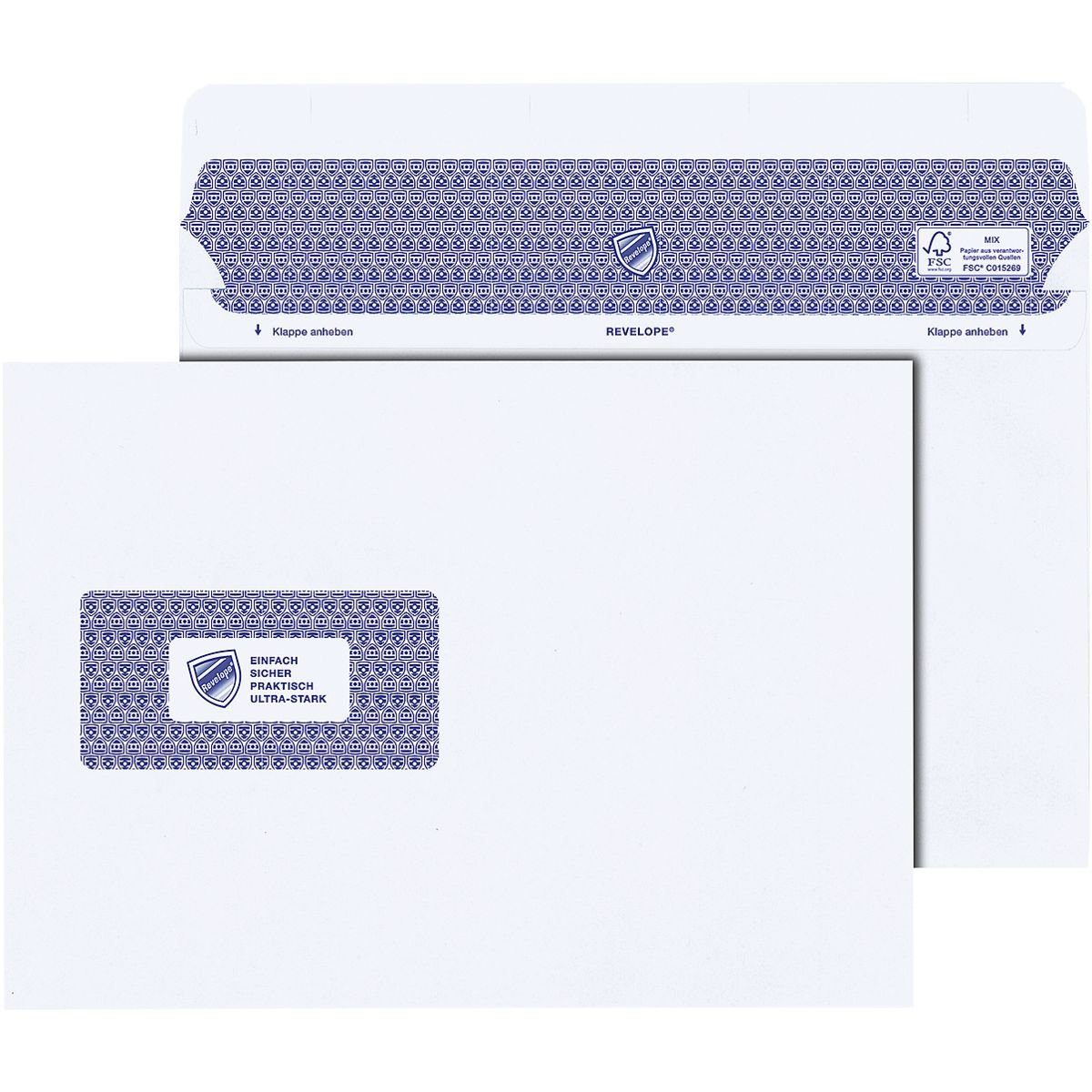 Mailmedia Versandtaschen C5 mit Fenster und Selbstklebung »Professional«