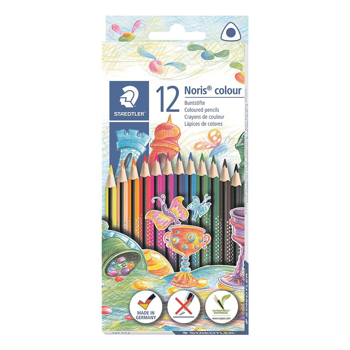 STAEDTLER Dreikant-Buntstifte »Noris colour«