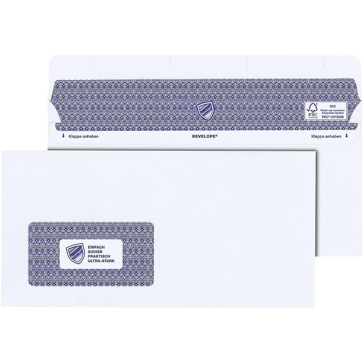 Mailmediade Versandtaschen DLplus mit Fenster und Selbstklebung »Professional«