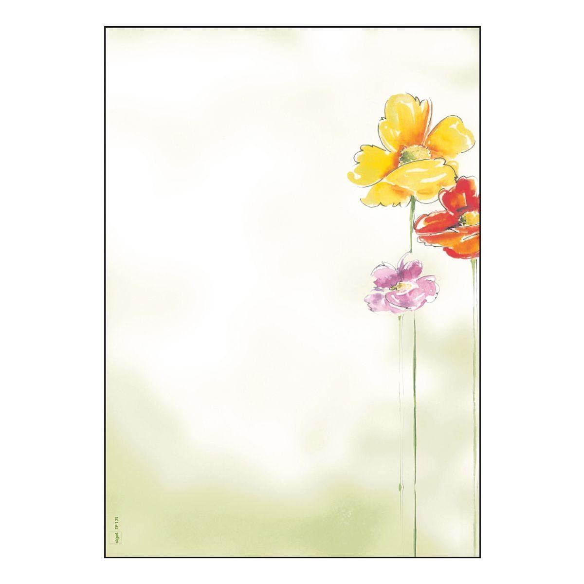 Sigel Motivpapier DP123 »Spring Flowers«