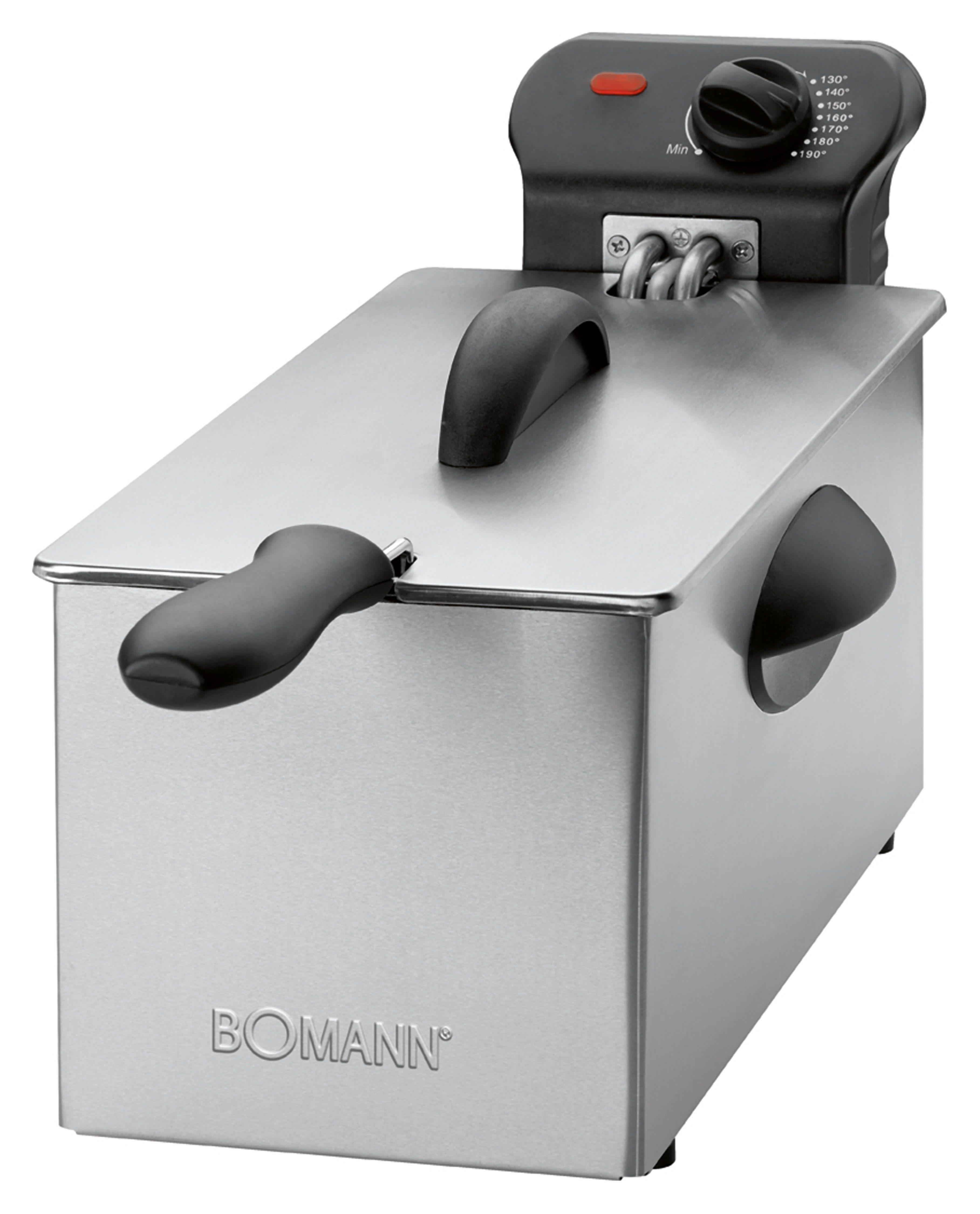 BOMANN Edelstahl-Fritteuse / Kaltzonentechnik »FR 2264 CB«