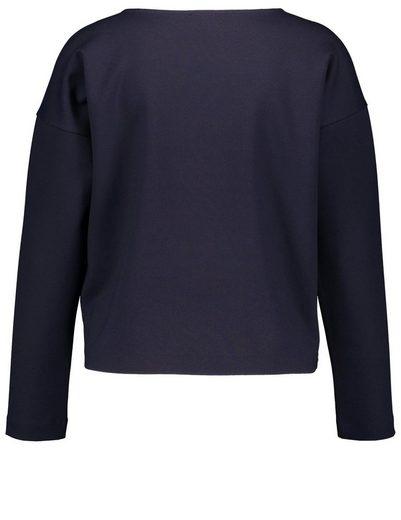 Gerry Weber T-Shirt 1/1 Arm Langarmshirt mit Perlenstickerei